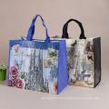 Grandes sacos de plástico tecidos novos reciclados do polipropileno