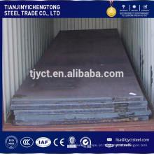 Chapa de aço leve da chapa de aço SS400 Q235 S235JR do carbono