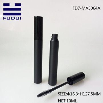10ML Empty Plastic Matte Black Cosmetic Eyelash Tube