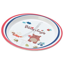 """Melamin """"France Bear"""" Seires Melamin Lunchplatte (FB13204)"""
