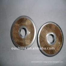 Disque filtrant à grille métallique de bonne valeur