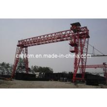 Trusstype Goliath Gantry Crane pour le déménagement des blocs de béton de construction
