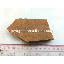 Pedra natural áspera-Rosa Quartzo para crianças educação