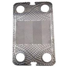 Durchfluss- oder Blindplatte Sondex S42 für Wärmetauscher (kann Sondex ersetzen)