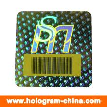 Безопасности Анти-Подделка Голограмма Наклейки Штрих-Код