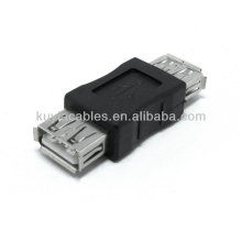 High Quality Black USB 2.0 A Female to A Female Converter Adapter Coupler New