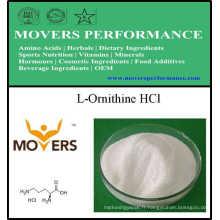 L-Ornithine HCl de catégorie comestible d'acides aminés d'approvisionnement d'usine