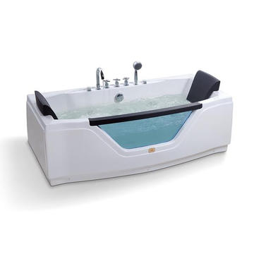 Rectangle Baignoire autonome en massage acrylique
