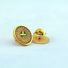 Custom Epoxy Lapel Badge Pins With Butterfly Cap Back