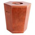 Подгонянный жгучий цвет Деревянный коврик для риса для магазина или супермаркета, деревянная бочка