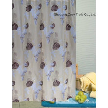 Printing Design Fabric Shower Curtain