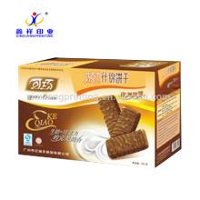 Couleur personnalisée! Boîtes de biscuits écologiques Biscuits en gros boîtes d'emballage