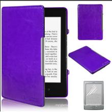 Estuche original para Amazon Kindle Voyage Flip PU Estuche de cuero
