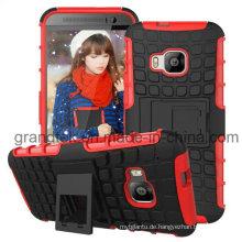 Großhandel Ständer Combo Case für HTC M9 Mobile Case