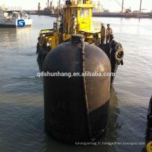 Aile de sous-marin hydraulique en caoutchouc pneumatique