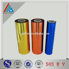 Metallisierte PET-farbige Kunststofffolie