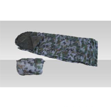 Военный спальный мешок с цифровым камуфляжем