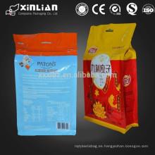 Bolso de empaquetado plástico colorido del alimento ziplock del grado alimenticio
