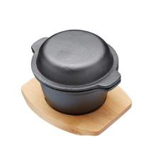 Pre-seasoned Gusseisen Mini Casserole Dish