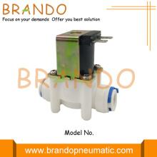 Électrovanne de distributeur d'eau en plastique du système RO