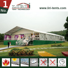 15m Clear Span Aluminum Big Tent Used as Temporary Office