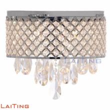 Lámparas de pared de cromado apliques de pared de cristal k9 de alta calidad antigua 12319