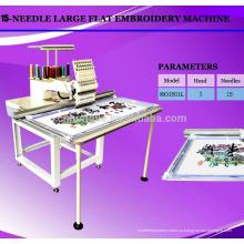 Вышивальная машина для вышивки одной машиной плоского типа компьютеризированная вышивальная машина