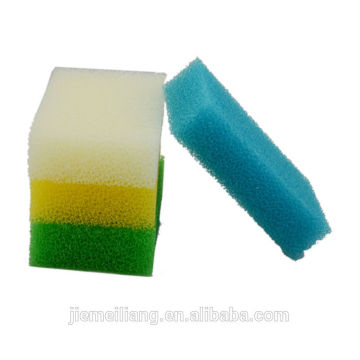 popular colorful high quality kitchen filter sponge