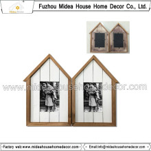 High Quality Solid Wood Two Photo Frame