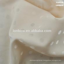 dot jacquard 100% polyester lining for garment