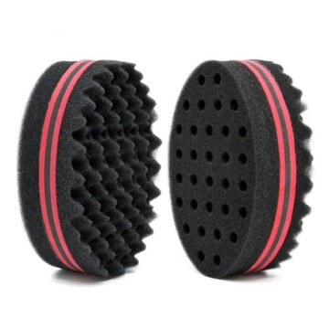 Magic Barber Sponge Brush Twist Hair para Wave