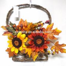 Arrangement floral élégant d'automne de récolte élégante