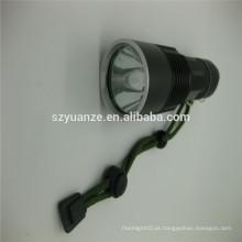 Chinês zoom lanterna levou com montagem, forte levou tocha