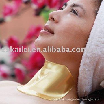 SGS proved Best selling popular Anti-wrinkle 24K Nano Gold Neck Mask