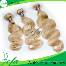 Factory Price High Quality Virgin Hair Human Remy Hair Weft