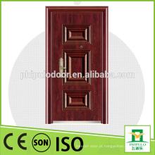 Porta de madeira de aço do projeto simples para a posição exterior na venda quente
