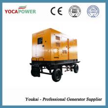 300kw generador diesel a prueba de sonido eléctrico generador de energía móvil