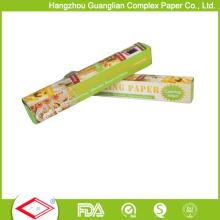 Rollo reutilizable del papel de la hornada del silicón de la anchura del hogar los 30cm