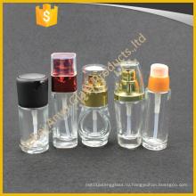 30ml 50ml Косметический крем солнцезащитный крем Стекло лосьон бутылка с насосом