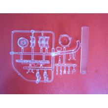 Folhas plásticas baratas transparentes dos PP, peças plásticas