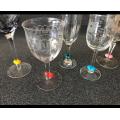 Cadeaux de décoration de vin Charms O en silicone