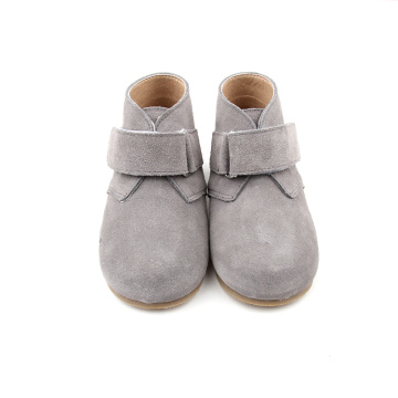 Kelabu Suede Leather Baby Shoes Shoes Shoes
