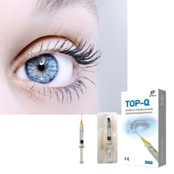 Injection de gel de hyaluronate de sodium d'utilisation de chirurgie oculaire de 2 ml