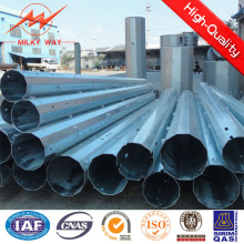 Bitumen Steel Utility Pole for 33kv Distribution Line