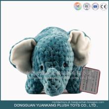 brinquedo feito sob encomenda do luxuoso do elefante do bordado do bordado do costume de 40cm