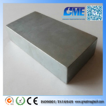 Hochwertiger N52 F100X50X20mm Permanenter Block NdFeB Magnet