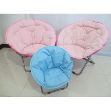 Round chaise lounge chair.