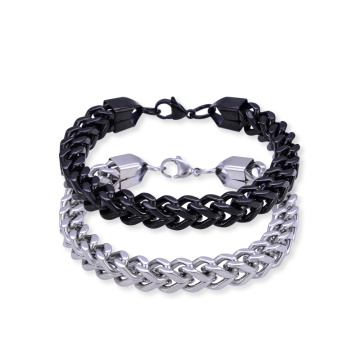 Bracelet en acier inoxydable Bracelet chaîne Franco Link