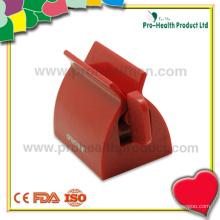 Distribuidor de pasta de dente de plástico personalizado