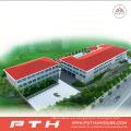 Almacén prefabricado de acero ligero de alta calidad de 2015 Pth Large Span